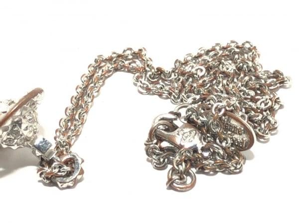 ヴィヴィアンウエストウッド ネックレス - 金属素材×ラインストーン 6