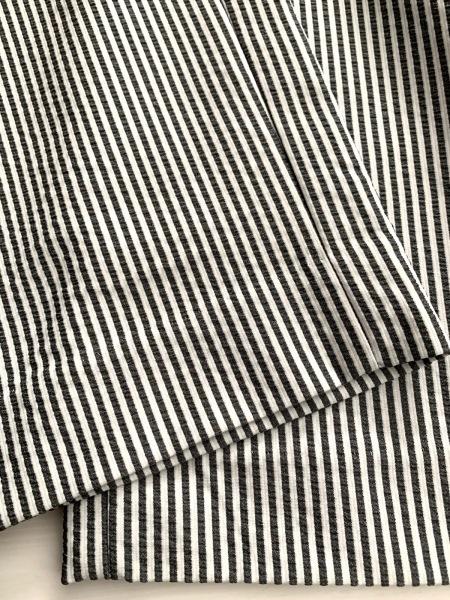 ピッコーネ パンツ サイズ36 S レディース美品  白×黒 ストライプ 5