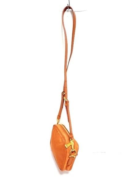 PRADA(プラダ) ショルダーバッグ - オレンジ ナイロン×レザー 2