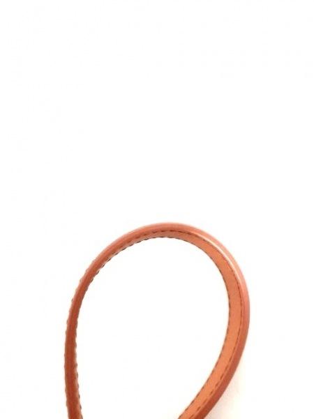 PRADA(プラダ) ショルダーバッグ - オレンジ ナイロン×レザー 8