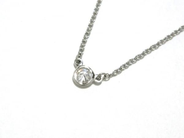 ティファニー ネックレス美品  バイザヤード Pt950×ダイヤモンド 3