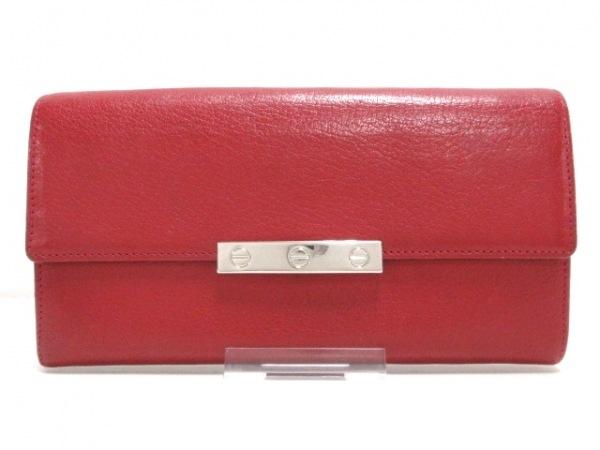 Cartier(カルティエ) 長財布 ラブ L3001377 レッド レザー 1