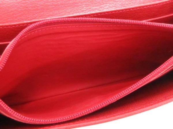 Cartier(カルティエ) 長財布 ラブ L3001377 レッド レザー 4