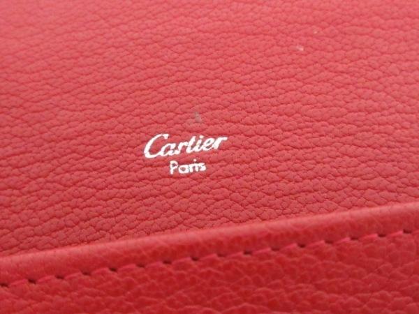 Cartier(カルティエ) 長財布 ラブ L3001377 レッド レザー 5