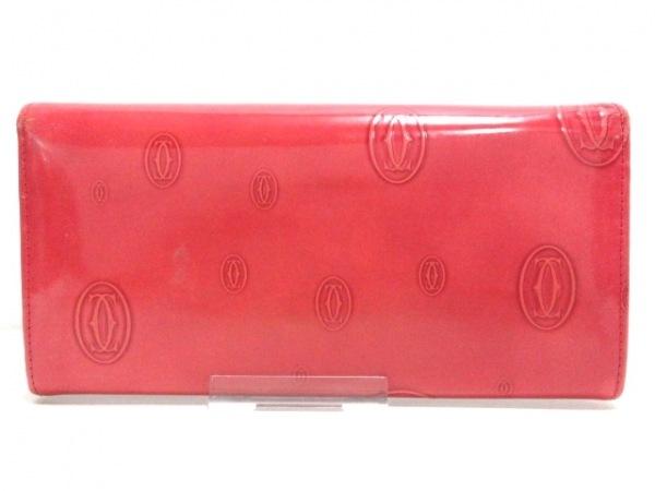 Cartier(カルティエ) 長財布 ハッピーバースデー L3001252 ピンク 2