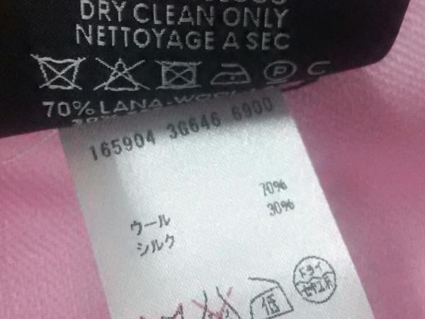 グッチ ストール(ショール)美品  - ピンク GG柄 ウール×シルク 3