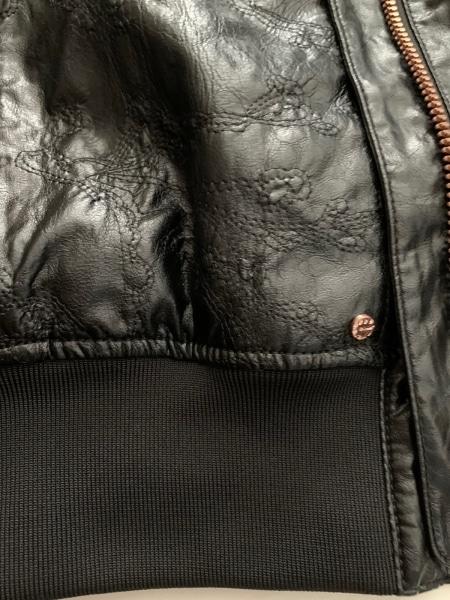 エンポリオアルマーニ ブルゾン サイズL レディース美品  - 黒 6