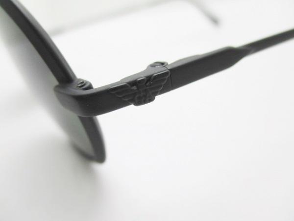 エンポリオアルマーニ サングラス - 040-S 黒 プラスチック 6