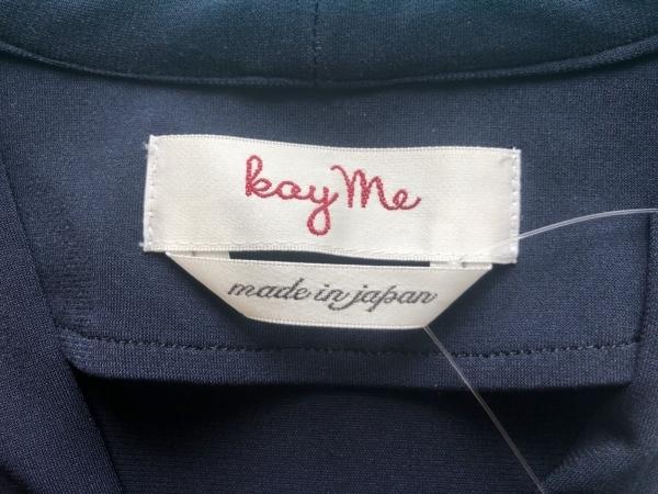 kayme(ケイミー) ワンピース サイズ9 M レディース美品  - ネイビー 3