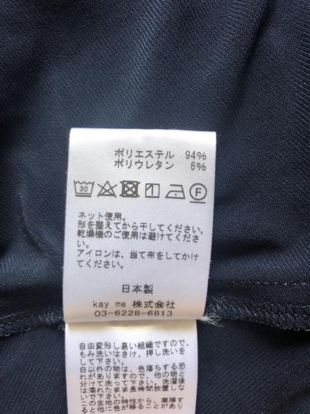 kayme(ケイミー) ワンピース サイズ9 M レディース美品  - ネイビー 4