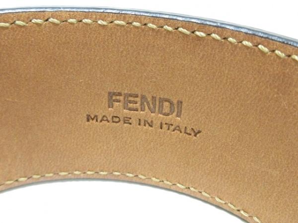FENDI(フェンディ) バングル美品  150193001 パイソン×金属素材 4