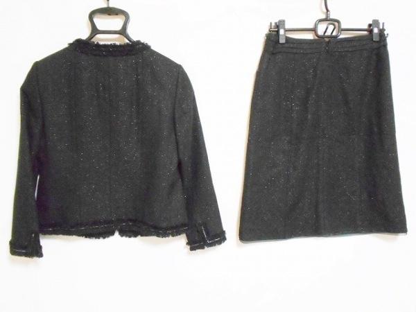 23区(ニジュウサンク) スカートスーツ サイズ38 M レディース 黒 2