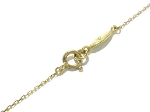 AHKAH(アーカー) ネックレス美品  K18YG×ダイヤモンド 0.05ct 4