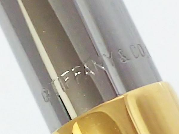 TIFFANY&Co.(ティファニー) ペン シルバー×ゴールド 金属素材 2