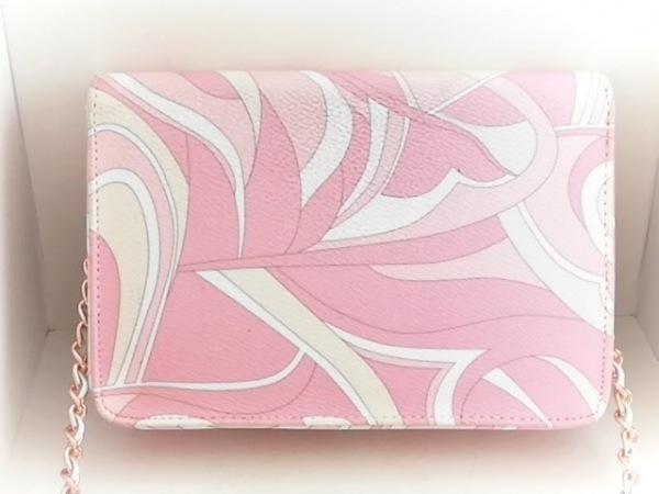 Rady(レディ) 財布 ピンク×マルチ チェーンウォレット 合皮 2