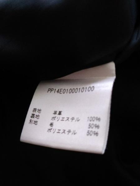 PAPILLONNER(パピヨネ) コート レディース 黒 レザー/春・秋物 4