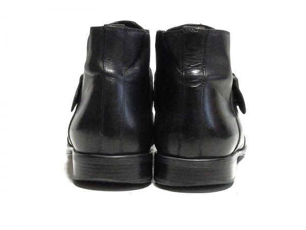 GEOX(ジェオックス) ショートブーツ 42 メンズ 黒 レザー 3