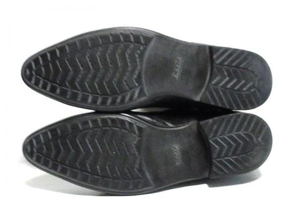 GEOX(ジェオックス) ショートブーツ 42 メンズ 黒 レザー 4