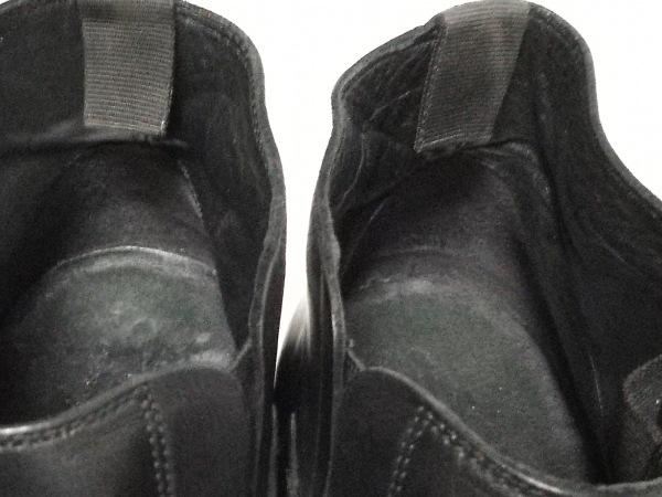 GEOX(ジェオックス) ショートブーツ 42 メンズ 黒 レザー 9