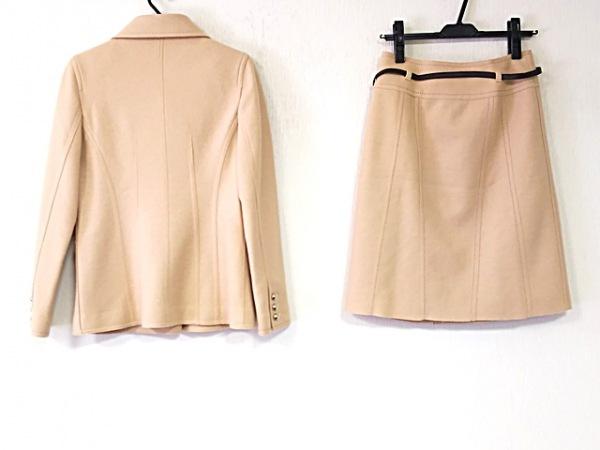 クレージュ スカートスーツ レディース美品  ベージュ 巻きスカート 2