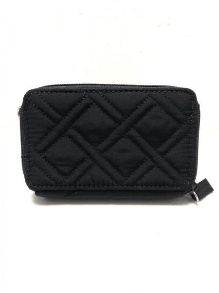 ベラブラッドリー 財布美品  黒 キルティング/ラウンドファスナー 2