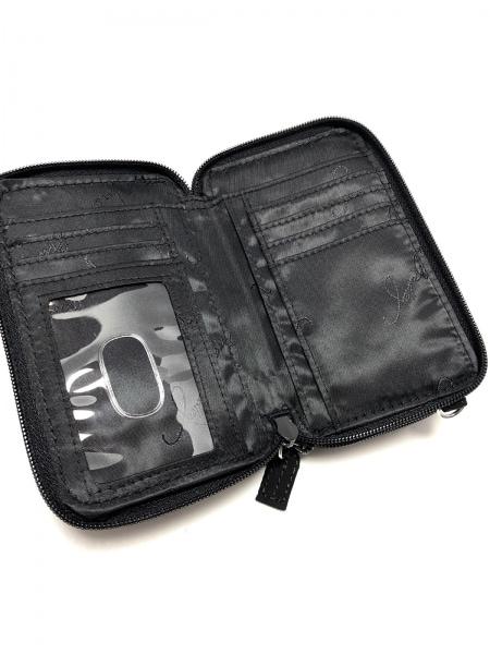 ベラブラッドリー 財布美品  黒 キルティング/ラウンドファスナー 3