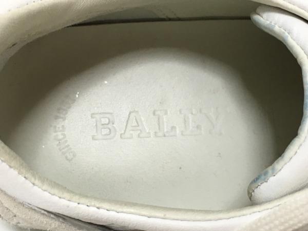 BALLY(バリー) スニーカー 35 レディース 白×ライトグレー×マルチ 5