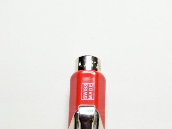 カランダッシュ ボールペン美品  レッド×シルバー 金属素材 2