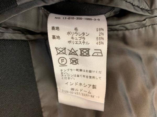 EDIFICE(エディフィス) シングルスーツ サイズ44 L メンズ 黒 4