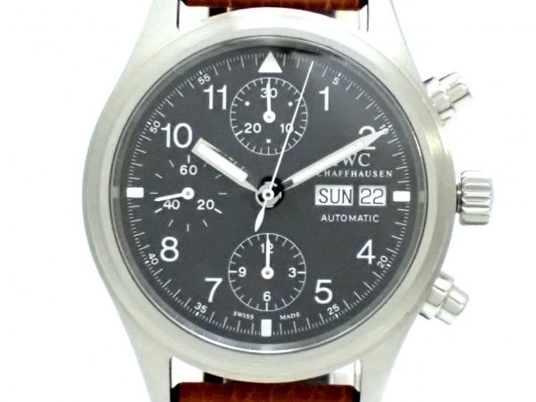 INTERNATIONAL WATCH CO 腕時計 メカニカルフリーガー IW370603 黒 1