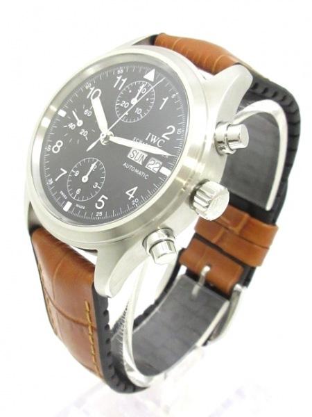 INTERNATIONAL WATCH CO 腕時計 メカニカルフリーガー IW370603 黒 2