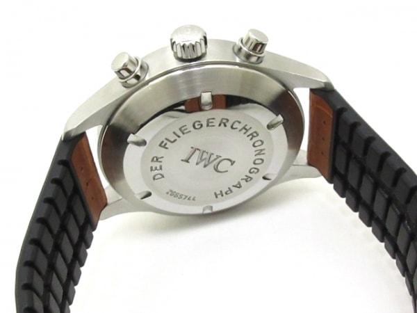 INTERNATIONAL WATCH CO 腕時計 メカニカルフリーガー IW370603 黒 3