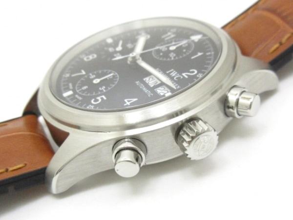 INTERNATIONAL WATCH CO 腕時計 メカニカルフリーガー IW370603 黒 7