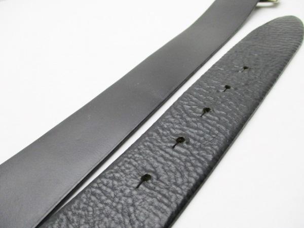ドルチェアンドガッバーナ ベルト 80/32 黒×シルバー 5