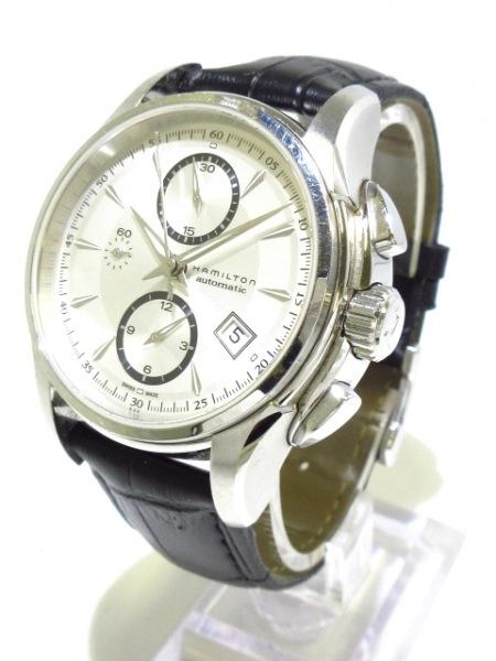 ハミルトン 腕時計 ジャズマスター クロノグラフ H326160 メンズ 2