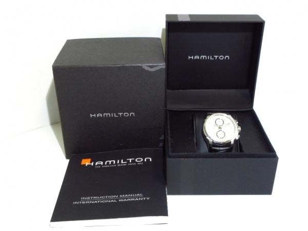 ハミルトン 腕時計 ジャズマスター クロノグラフ H326160 メンズ 9