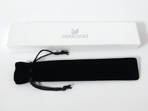 スワロフスキー ボールペン ライトブルー×シルバー インクあり(黒) 5