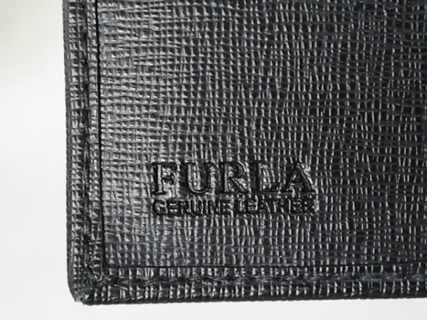 FURLA(フルラ) 3つ折り財布 黒 レザー 5