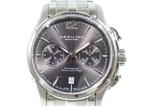 ハミルトン 腕時計 ジャズマスターオートクロノ H326060/H32606185 1