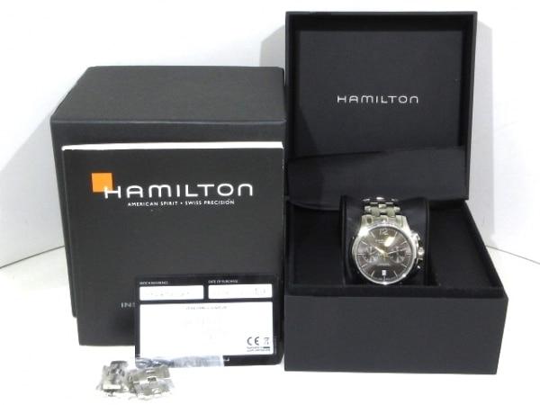 ハミルトン 腕時計 ジャズマスターオートクロノ H326060/H32606185 8