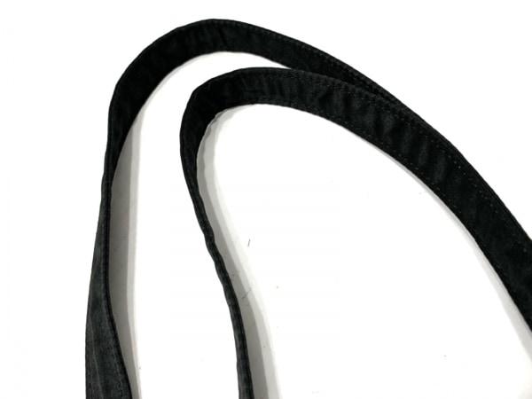 メゾンドフルール トートバッグ 黒×白 リボン/ドット柄 化学繊維 6