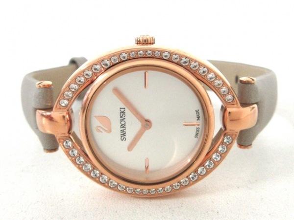 SWAROVSKI(スワロフスキー) 腕時計美品  レディース シルバー 2