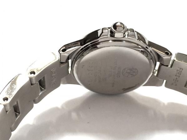 ワイアード 腕時計 V111-0AH0 レディース シェル文字盤 グレーシェル 4