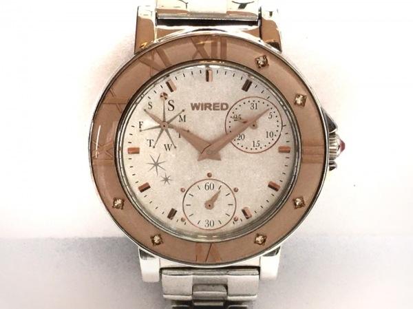 WIRED(ワイアード) 腕時計 VD76-KH80 レディース トリプルカレンダー 1