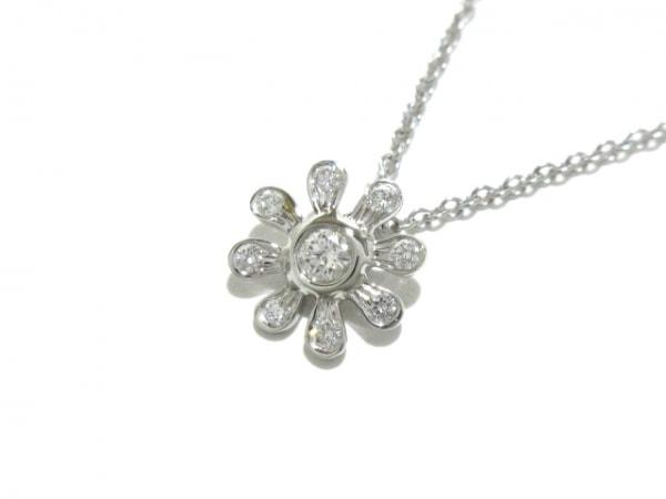 ティファニー ネックレス新品同様  - Pt950×ダイヤモンド 1