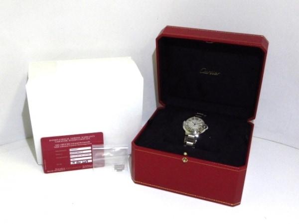カルティエ 腕時計美品  バロンブルーMM W6920071 ボーイズ SS 9