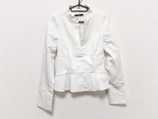ヒューゴボス ジャケット サイズ32 S レディース - 白 長袖/春 1