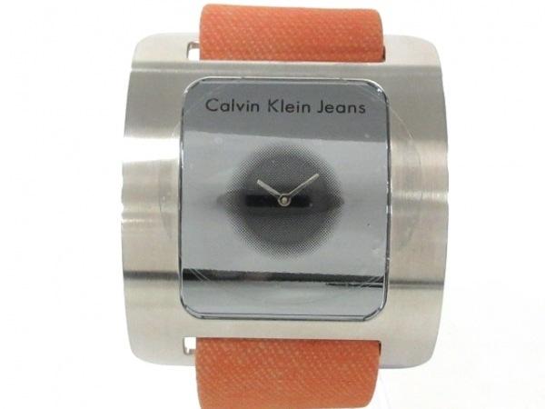 CK Jeans 腕時計美品  - K37156 レディース シルバー 1