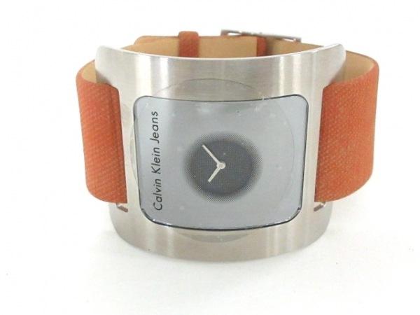 CK Jeans 腕時計美品  - K37156 レディース シルバー 2