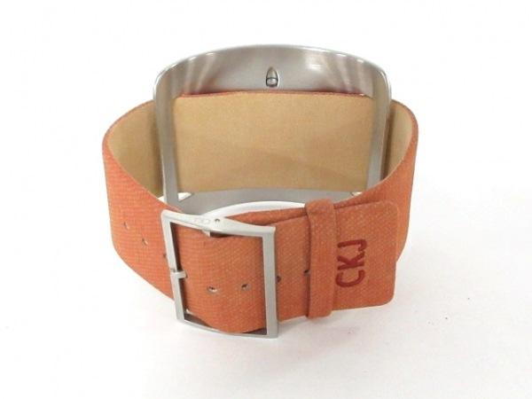 CK Jeans 腕時計美品  - K37156 レディース シルバー 3